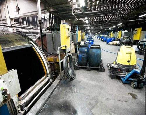 南京某皮革厂